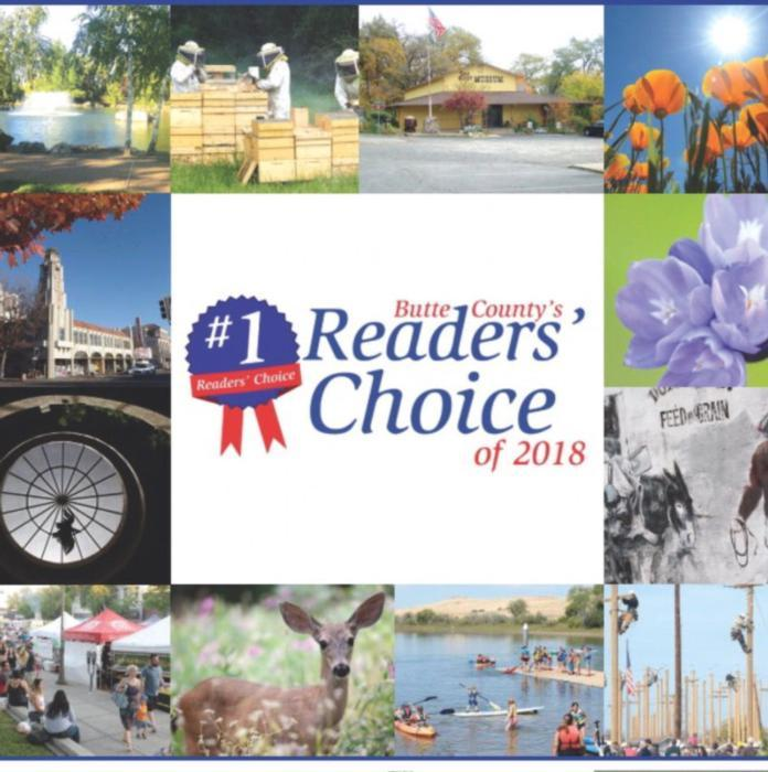 Chico CA Dentist Office Award for #1 Readers Choice 2018