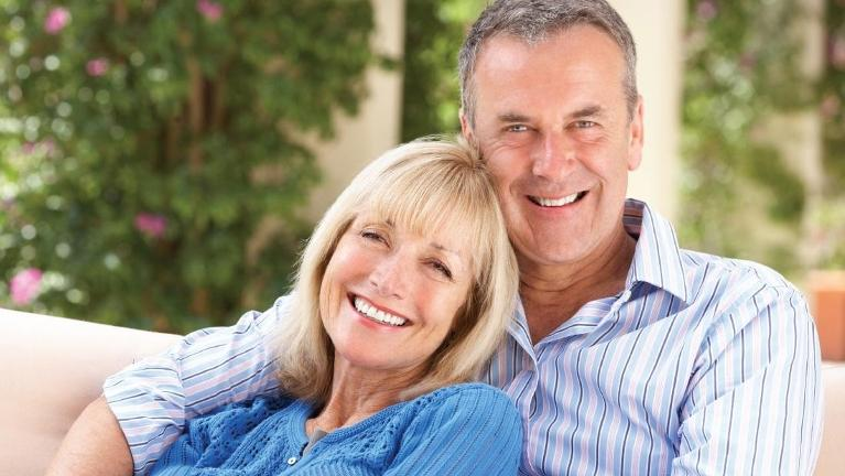 Couple smiling in 95928 | South Chico Dentistry