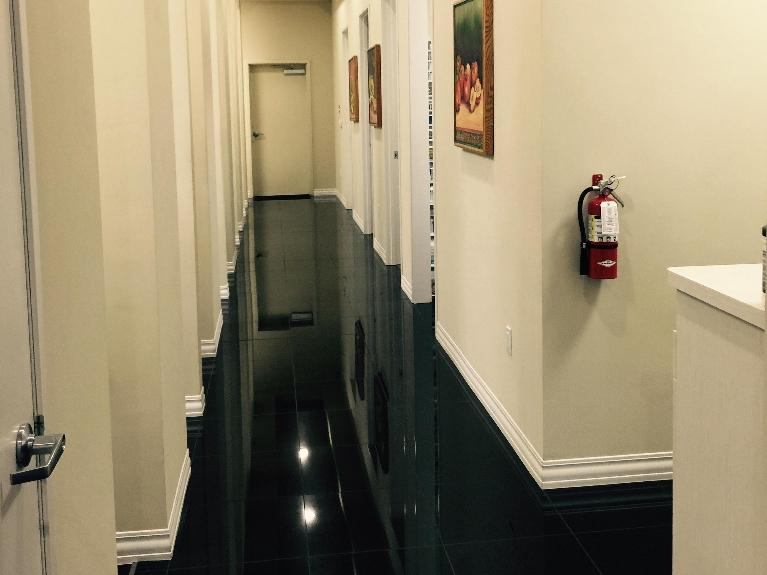 The Hallway of South Chico Dental Care in Chico, California